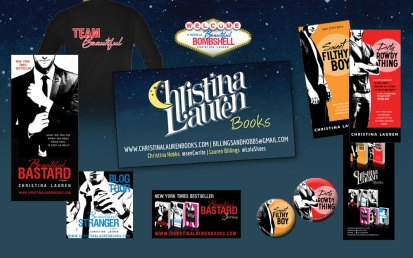 Christina Lauren – Beautiful Bastard series, Wild Season series andSublime