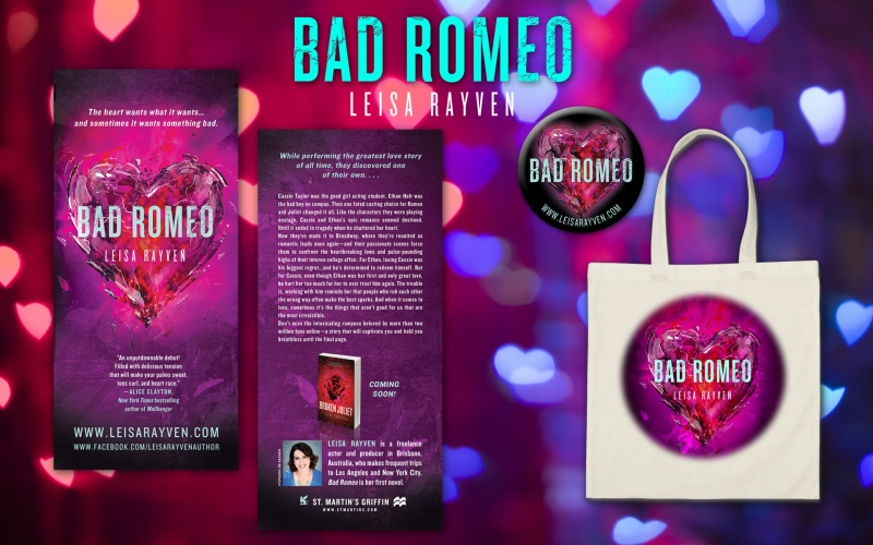 Leisa Rayven – Bad Romeo book promotion