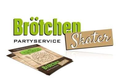 Brötchen Skater Partyservice